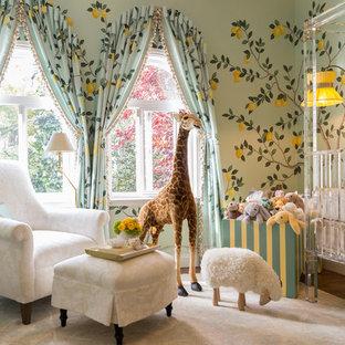 Bild på ett funkis babyrum