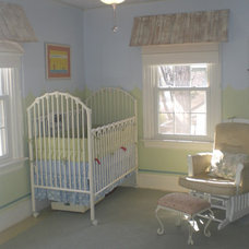 Traditional Nursery by The Painted Home