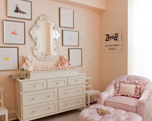 girls white dresser with mirror home design ideas pictures remodel and decor. Black Bedroom Furniture Sets. Home Design Ideas