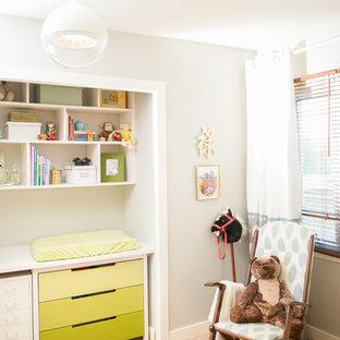 Soft Graphic Girl's Nursery