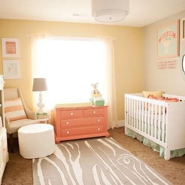 Soft Pastels Baby Girl Nursery