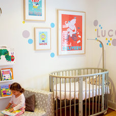 Contemporary Nursery by Hide & Sleep Interior Design