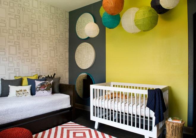 Modern Nursery by Robin Colton Studio