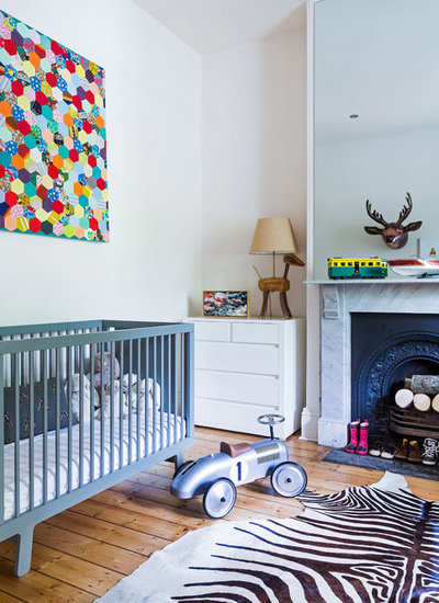Eclectic Nursery by Studio Stamp