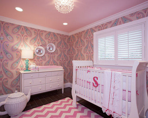 Pink Wallpaper Houzz