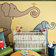 Eclectic Nursery by Insidesign