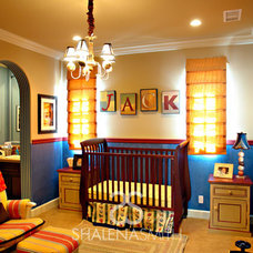Contemporary Nursery by Shalena Smith Interiors