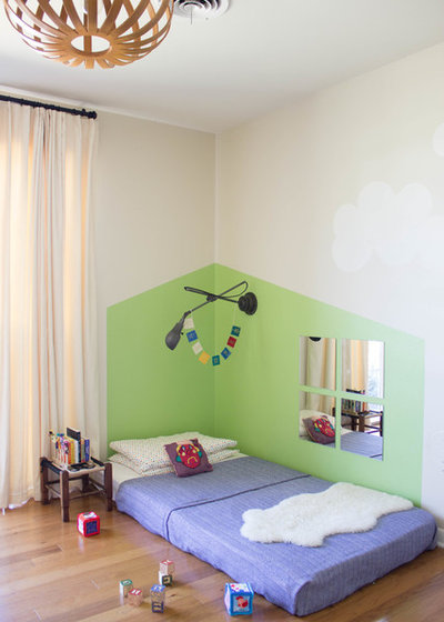 le lit au sol une solution ludique et gain de place pour les enfants. Black Bedroom Furniture Sets. Home Design Ideas