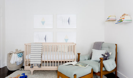 10 Stylish Nurseries Where Tired Parents Can Also Rest