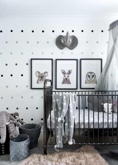 Modern Babyzimmer by Grey Peg Interiors