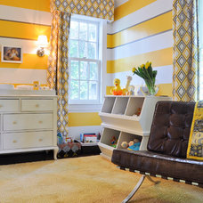 contemporary nursery by CM Glover