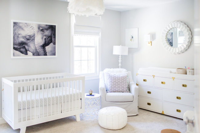 Transitional Nursery by Thayer Design Studio