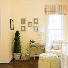 Transitional Nursery by Nifelle Design - Fine Interiors