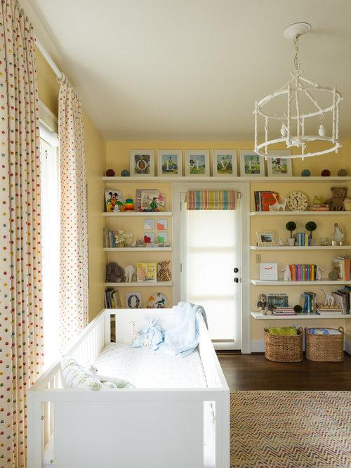 babyzimmer mit gelber wandfarbe ideen design bilder houzz. Black Bedroom Furniture Sets. Home Design Ideas