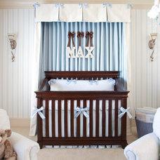 Traditional Nursery by Jennifer Reynolds - Jennifer Reynolds Interiors