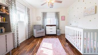 After : Sweet Girl's Nursery