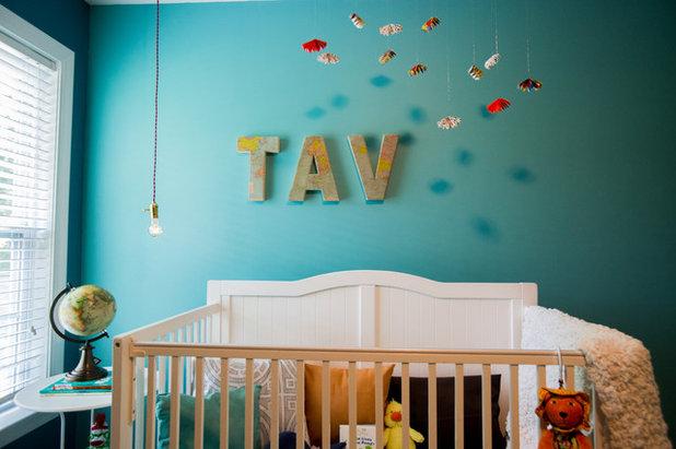 Eklektisch Babyzimmer By Jlv Creative With Babyzimmer Einrichten Wenig Platz .