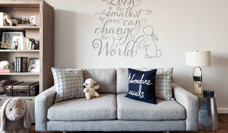Room of the Day: Peter Rabbit-Inspired Nursery for Twins