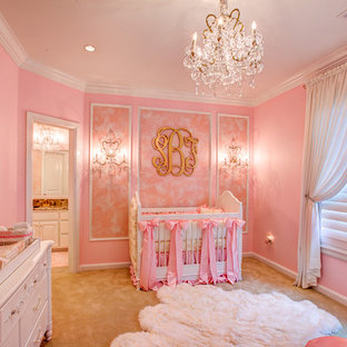 Inspiration for a classic nursery in Oklahoma City.