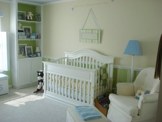 Traditional Nursery by Thrifty Decor Chick