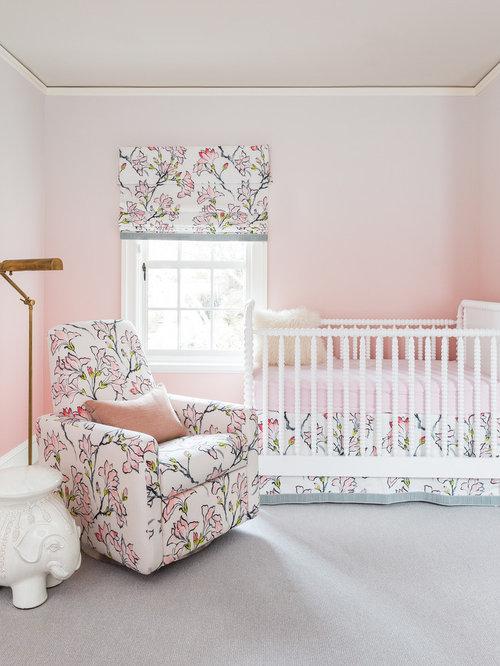 shabby chic style nursery design ideas renovations photos. Black Bedroom Furniture Sets. Home Design Ideas