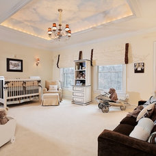 Traditional Nursery by Dahlia Design
