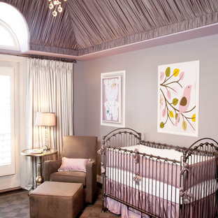 Lavender and Gray Girl's Nursery