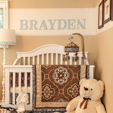 Traditional Nursery by Dettaglio Interior Design