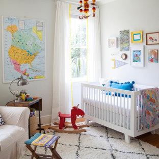 Nursery - transitional nursery idea in Atlanta