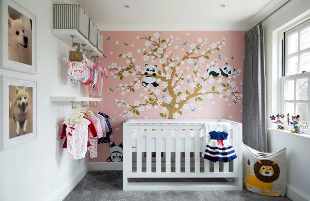 Contemporary Babyrum by Monita Cheung Design Ltd