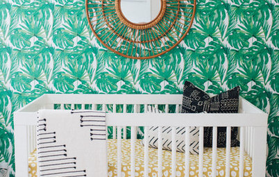 Room of the Day: 'Cool Kids' Share a Pattern-Happy Bedroom