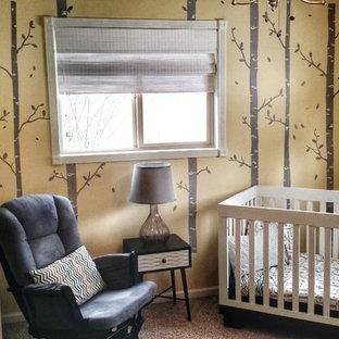 Unisex Nursery Grey & Yellow