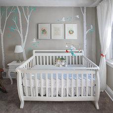 Modern Nursery by Steadcraft Renovations