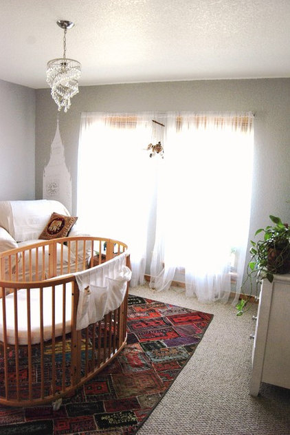Eclectic Nursery Unisex world explorer themed nursery