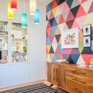 サンフランシスコのコンテンポラリースタイルのおしゃれな赤ちゃん部屋の写真