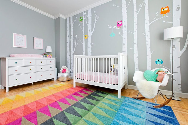 Contemporary Nursery by YDC design