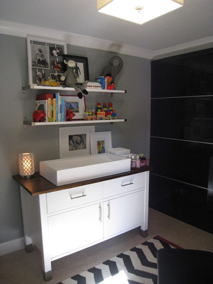 Eclectic Nursery by Design Shop - Interiors & Staging
