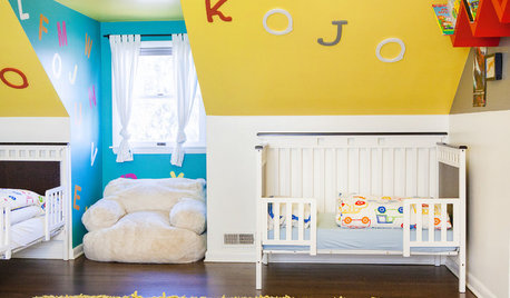 Beyond Pink and Blue: 7 Palettes for Kids' Rooms