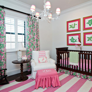 Inspiration for a bohemian nursery in Miami.