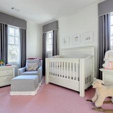Traditional Nursery by Muffley & Associates