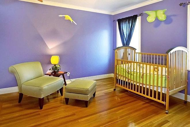 Contemporary Nursery by mark pinkerton  - vi360 photography