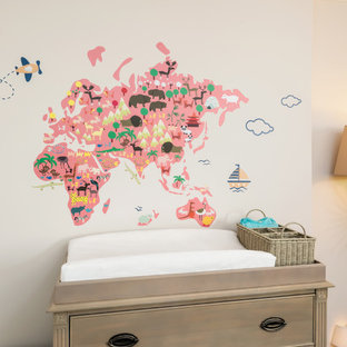 Wall Map for Nursery