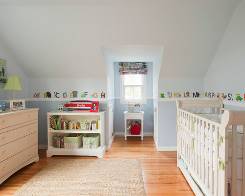 Lovely Inspiration For A Timeless Gender Neutral Medium Tone Wood Floor Nursery  Remodel In Los Angeles Part 9