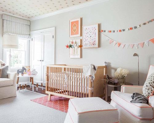 Skandinavische Babyzimmer in Los Angeles gestalten - Ideen ...