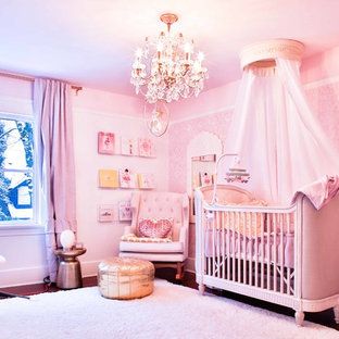 Design ideas for a traditional nursery in Vancouver.