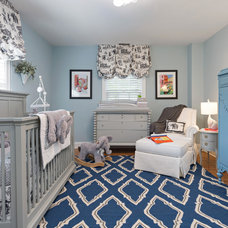 Traditional Nursery by Joni Spear Interior Design