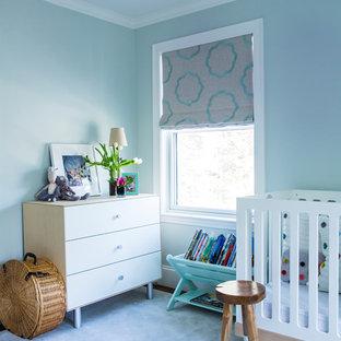 Inspiration pour une chambre de bébé design.