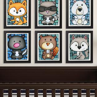 Woodland Animal Art Prints for Nursery
