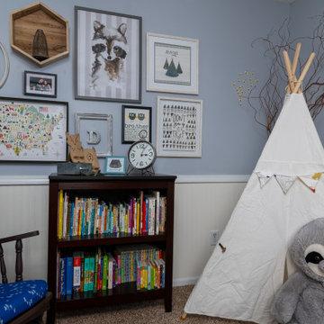 Woodland Room for Baby Boy-Grandville, MI