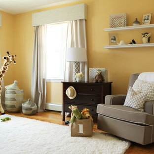 Yellow and Grey Nursery